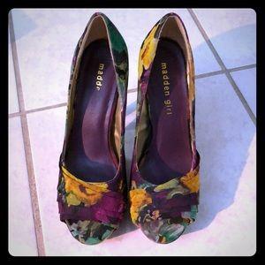 Madden Girl Shoes - Madden girl floral heels